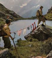 Humour Alpinisme Sens Pratique De La Femme Montagne FRANCE Humor Mountaineering Practicality Of Women Mountain Underwear - Humour