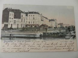 Bruxelles- Porte De Flandre.1904. Colorer. Ecluse. - Maritime