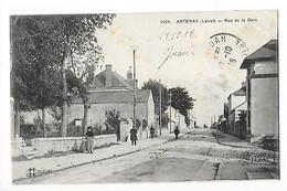 ARTENAY  (cpa 45)  Rue De La Gare   -  L 1 - Artenay