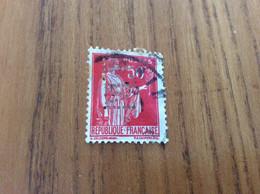 YT N°283, PAIX 50c (rose Rouge) Perforé MJ - 1932-39 Frieden