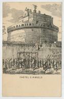 C.P.  PICCOLA    ROMA   CASTEL  SANT. ANGELO        2 SCAN  (NUOVA) - Castel Sant'Angelo
