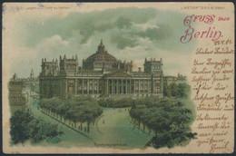 Ansichtskarte Halt Gegen Das Licht Berlin Reichstagsgebäude  - Non Classificati