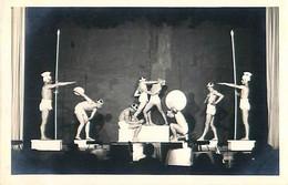 PHOTO Format Cpa SAINT JEAN D ANGELY 17 Théatre ( EDEN ?), Les Statues Grecques, Photo G. LAFON - Saint-Jean-d'Angely