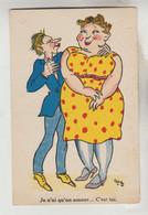CPSM HUMOUR COUPLE - Je N'ai Qu'un Amour C'est Toi - Humor