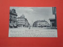 Bienne   Place De La Gare     ( 2 Scans ) - BE Berne