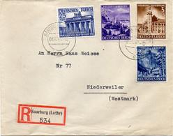 "ALLEMAGNE :  REC . "" SAARBURG (LOTHR) "" . 1941 . - Covers & Documents"