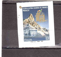 2020 TARIFFA B SCUOLA ALPINA GUARDIA DI FINANZA - 2011-...: Mint/hinged