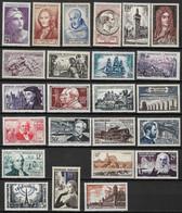 France Lot  24 Timbres Neufs **  Majorité De 1955, Bon Lot - Collections