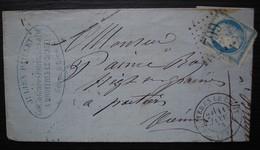 Bruyères-le-Chatel 1874 Seine Et Oise Julien Paillet Graines Potagères Et Fourragères - 1849-1876: Classic Period