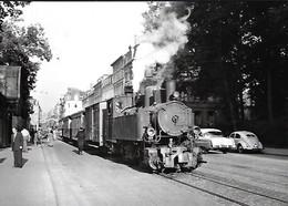Luxembourg - Luxemburg  -  Luxembg-Ville , Train Tracté Par Une Mallet  020+020 T 53  -  Photo J.Bazin - Photo Véritable - Non Classificati