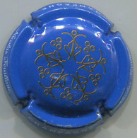 CAPSULE-CHAMPAGNE FEUILLATTE NICOLAS N°60x Fond Bleu Marine-NR - Feuillate