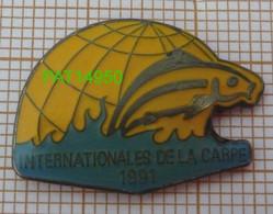 PECHE  INTERNATIONALES DE LA CARPE 1991 - Animali