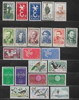 France Lot 57 Timbres Neufs ** Entre 1051 Et 1245 - Collections