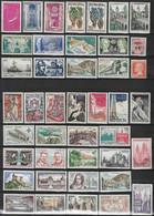 France Lot 85 Timbres Neufs ** Entre Années 1950 Et 1960 - Collections