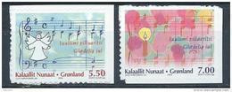 Groënland 2006 N° 456/457 Adhésifs Neufs Noël - Neufs