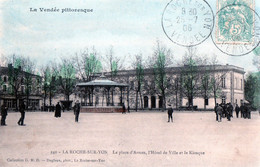 Cpa(85)--la Roche-sur-yon - La Place D'armes - La Roche Sur Yon