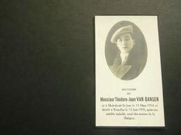 Doodsprentje ( 3850 )  Van Gansen -  Sint - Jan - Molenbeek 1935 - Avvisi Di Necrologio