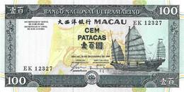 MACAO 1999 100 Pataca - P.73a  Neuf UNC - Macao