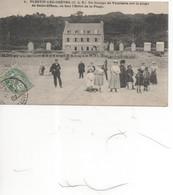 Plestin-les-grèves;Enfants Devant L'hotel De La Plage En 1907; Réf 465 - Plestin-les-Greves