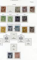 121120//// TIMBRE FRANCE TYPE SAGE DONT LE 5F .................................LOT A DECOUVRIR - 1876-1898 Sage (Type II)