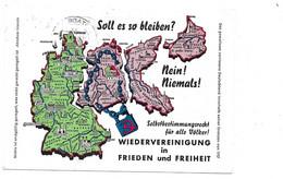 SOLL ES SO BLEIBEN FREIHEIT BAD NANHEIM CARTE CONTRE BLOCUS DE BERLIN 1964 - Sonstige