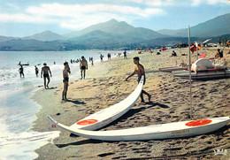 66 - Argelès Sur Mer - Contre Jour Sur La Plage Et Les Albères - Argeles Sur Mer