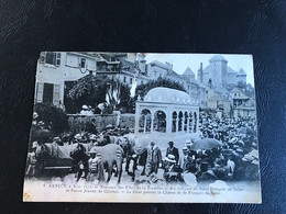 4 - ANNECY 2 Aout 1911 - Souvenir Des Fetes De La Translation Des Reliques De Saint François De Sales - Annecy