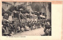 ES BURGOS - Hauser 116 - Los Gigantes Y Danzantes - Animée - Belle - Burgos
