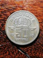 MONNAIE COIN BELGIQUE BELGIE BELGIUM 50 CENTIMES 1959 MINEUIR QUALITE RELIEF PATINE - 03. 50 Centimos