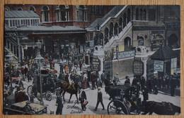 London - Broad Street Station - Lived Up - Animéee : Belle Animation - Colorisée / Colorized - (n°18943) - Other