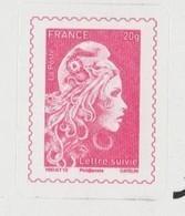 FRANCE / 2019 / Y&T N° AA 1656B ** : Marianne D'YZ TVP France 20g + SUIVI X 1 Sur Feuillet LS6 - KlebeBriefmarken