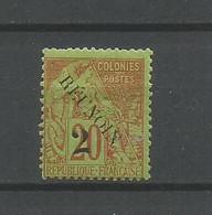 Timbre De Colonie Françaises Réunion En Neuf *   N 31 D - Nuovi