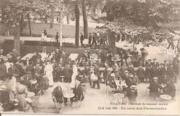 ROANNE (42) Souvenir Du Concours Musical 15-16 Août 1908 - Un Coin Des Promenades (Cliché Pas Courant) - Roanne
