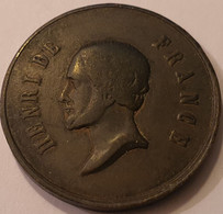 HENRI V  Comte De Chambord  -  1835-1840    FIDES SPES - Adel