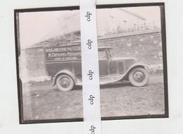 WARET LA CHAUSSEE  Ancienne Photo  CAMION BOULANGERIE - Ohne Zuordnung
