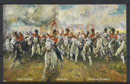 Bataille De Waterloo, 1815, Scotland Forever, Peinture De Lady Butler (Elizabeth Thompson), Neuve - Storia