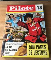 """ALBUM PILOTE RECUEIL 18 RELIURE N° 213 à 222  COMPLET 1963  Vintage """"""""Offre Spéciale"""" - Pilote"""