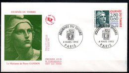 France N° 2933 - Premier Jour D'émission - FDC - Marianne De Gandon (1945-1995) - 1990-1999