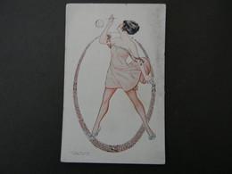 Illustrateur Maurice PEPIN. Bulles De Savon. Femme Art Déco. - Pepin