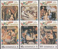 Dominica 1974 Christmas Michel 410-16 - Dominica (1978-...)