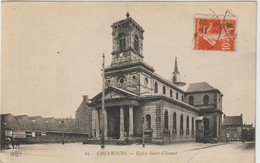 CPA  50  CHERBOURG   EGLISE ST CLEMENT  63 - Cherbourg