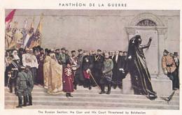 Panthéon De La Guerre The Russian Section The Czar And His Court Threatened By Bolchevism - War 1914-18