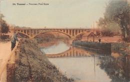 Tournai - Nouveau Pont Soyer, Péniche - Tournai