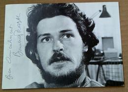 BRUNO PRADAL (Acteur) ....Signature...Autographe Véritable... - Autografi