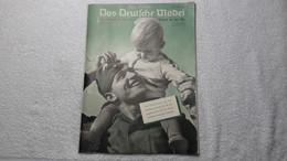 Raree Zeitschrift Das Deutsche Mädel In Der HJ 1941 Maiheft  Bund Deutscher Mädels BDM JM - 1939-45