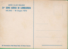 AEROPORTO. AEREOPORTO. AIRPORT. . ARTURO FERRARIN. RAID MILANO TOKIO. 294P - Unclassified