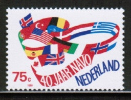 EUROPEAN IDEAS 1989 NATO NL MI 1360 NETHERLANDS ** - Europese Gedachte