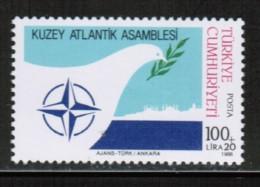 EUROPEAN IDEAS 1986 NATO TR MI 2764 TURKEY ** - Europese Gedachte