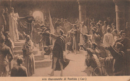 Cartolina  - Postcard /   Viaggiata - Sent /  Giuramento Di Pontida. - Otros