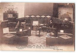 CPA 22 Etables Salon De La TSF 1929 Stand Des Etablissement A Fouquet - Etables-sur-Mer